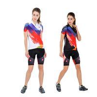 여성 여름 편안한 유니폼 + 반바지 자전거 착용 자전거 야외 유니폼 세트 흑백 LB17 사이즈 S M L XL XXL XXXL