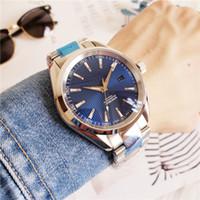 Лучшие мужские часы Aqua Automate Terra Высокое Качество Часы 8500 Автоматические часы 39 мм Сапфировая сталь застежка Прозрачная задняя Водонепроницаемые часы