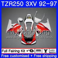 Kit para YAMAHA TZR250RR RS TZR250 en venta blanco 92 93 94 95 96 97 245HM.41 TZR 250 3XV YPVS TZR 250 1992 1993 1994 1995 1996 1997 Carenado