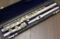 موراماتسو M-150 16 ثقوب مغلقة C اللحن الناي جودة عالية الأداء آلات موسيقية النحاس والنيكل مطلي الناي مع حالة