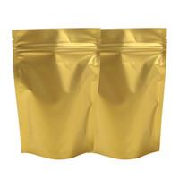 """8.5x13cm (3.3x5.1 """") لون الذهب المسيل للدموع الشق معدنية مايلر الرمز البريدي قفل كيس موقف صمام الألومنيوم احباط الأغلاق الوقوف كيس زيبلوك]"""