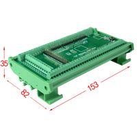 MEGA-2560 R3 için Freeshipping DIN Ray Montaj Vidalı Terminal Bloğu Adaptör Modülü