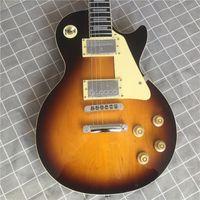 Новое Высочайшее качество R9 59 Sunburst Стандартная Электрическая гитара, Гитара розового дерева Гитара. Массивные инструменты.