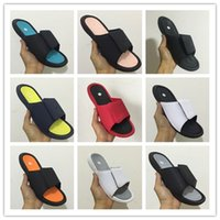 Hot Sale- 6s Hydro 6 mens designer flip flops slippers Luxur...