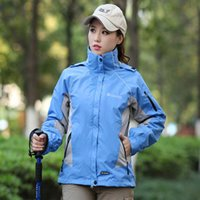 Jackets Womens Three- in- One Outdoor Fleece Removable Shoulde...