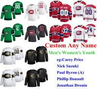 S-6XL 2020 GIOCO ALL-STAR GIOCO MONTROAL CANADSIENS Hockey Jerseys Xavier Ouellet Jersey Jeff Petry Shea Weber Charlie Lindgren cucito personalizzato