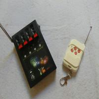 4 Cues Fern controlls 2020 neue Art + 433MHz Schalter Hochzeitsfeuerwerke System für elektronische Draht drahtlose Sicherheit des neuen Jahres