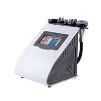 HOT 5в1 Radio Frequency Биполярный Ультразвуковая кавитация целлюлита машины для похудения Потеря вакуума Вес красоты химическо UPS DHL