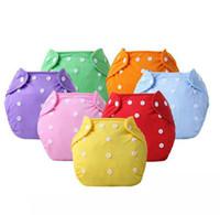 Riutilizzabile pannolino per neonati per bambini lavabile regolabile per lavare pannolino pannolino pannolino per bambini eco-friendly pannolini 7 colori KKA7853