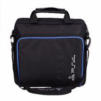 Per dimensioni PS4 / PS4 Pro Slim gioco Sytem sacchetto originale per PlayStation 4 Console Protect tracolla della borsa di caso della tela di canapa