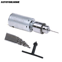 Electric Drills DC 12V Electric Motor Small PCB Hand Drill P...