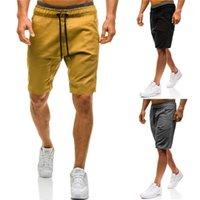 Şort Tasarımcı Gevşek Erkek Şort Yaz Günlük Pantolon Erkek Giyim Yeni Moda Elastik Kemer Erkekler Casual