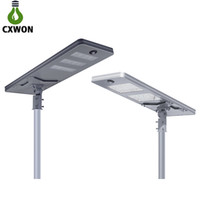 All In One Solar Street Light IP65 Waterproof Aluminum Alloy...