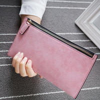 2018 fashion new wallet ladies thin section zipper long sect...