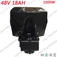 عالية الطاقة 1000W 48V 18AH E الدراجة بطارية ليثيوم أيون 48V 18AH الكهربائية بطارية ليثيوم أيون مع شاحن 30A BMS 54.6V 2A.