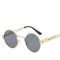 Vidano Optical Round Metal Sunglasses Steampunk Men Women Fa...