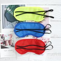Sommeil Masque moto Lunettes Lunettes Masques pour les yeux ombre Nap Couverture Blindfold Voyage Repos traitement de la peau des soins de santé Livraison gratuite