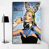 Kate Moss Playboyes Icon 2018 Art Canvas Poster Painting Wal...