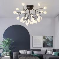 Moderna Firefly luce di soffitto decorazioni Branch lampadario lampadina G4 a soffitto per le lampade Luster Lampara Soggiorno Lampada da soffitto