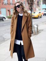 مزيج الصوف كم طويل التلبيب أزرار معطف المرأة سميكة الدافئة خمر الهجن الأسود سترة شرنقة نمط خندق معاطف زائد الحجم 5xl