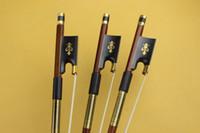 Neuer 4/4 Violinbogen Superior Brasilianischer Ebenholzfrosch sehr schön 1 Stück