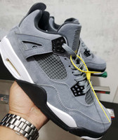 official photos a80b7 cbc27 New Arrival. 2019 New Release Jumpman 4 Cool Grey Chrome Dark Charcoal  Varsity Maize Men Sports Basketball ...