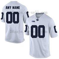 Personalizado 2020 Penn State Nittany Lions PSU Football Qualquer Nome Número Azul Marinho Branco Saquon Barkle # 26 Hamler Parsons Freiermuth NCAA Jersey