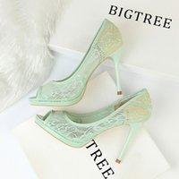 Heiße Verkaufsbraut-Parteischuhe zapatos Fiesta mujer elegante Blickzehe-Absatzplattform-Stilett zapatos de vestir mujer estiletos mujer