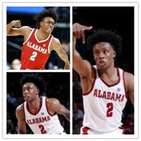 ea126882470 Custom Alabama Crimson Tide Collin 2 Sexton Donta 0 Hall John 23 Petty  Dazon Ingram Stitched Any Name Any Number College Basketball Jersey