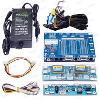 Freeshipping T-V18 Strumento di test per pannello LED LCD Screen Tester Supporto 7-84 pollici + Scheda trasformatore di tensione + 14PCS LVDS