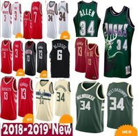 New Arrival. Antetokounmpo Paul Harden Bledsoe Allen iannis 34 Ray  Milwaukee Jersey Mesh 6 Eric ... ac64bce97