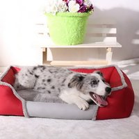 Soft Dogs Bed Sofa Nest Pet Separable Dogs Bed Warm Cotton D...