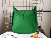 28 centímetros Moda feminina oco Out Handbag Super macio couro genuíno Cowskin sacos de ombro senhora bolsa de alta qualidade frete grátis