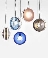 Moderne Minimaliste Suspension Lampe Nordic Plafond Vêtement Décoration Lampe En Verre pour Salon Chambre Salle À Manger Luminaire