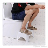 Convenient toilet ottoman padded bathroom anti- skid shatter-...