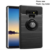 Новая мода телефон case Luxury protector матовый desigin case smart phone cover для samsung J4 J6 prime note 8 9 huawei safety cover