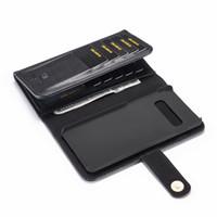 Ретро 2 в 1 магнитный кожаный бумажник чехол для iPhone 7 8 6S Plus X XS MAX для Samsung Galaxy S7 S8 S9 S10 задняя защитная сумка слот для карт Cove