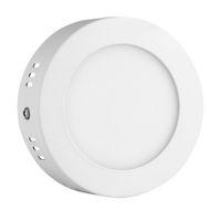 LED 패널 라이트 recessed 주방 욕실 램프 85-265V 6W 라운드 LED 복도 시체 천장 패널 빛