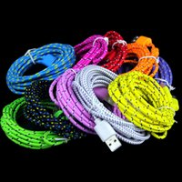 type c Micro V8 Fabric nylon braided cables usb data charger cable For samsung Letv Nokia N1 One plus 2 lg g5 1m 2m 3m
