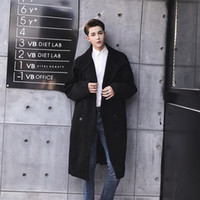 2019 Japanese Literary Wind Woolen Coat Male Super Temperame...