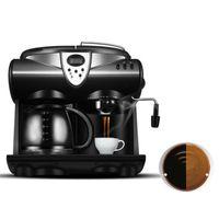 BEIJAMEI Promoção Máquina De Café Comercial Máquina De Café Italiano Vapor De Espuma De Leite Espresso Que Faz A Máquina Preço