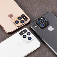 الإصدار 2 ينطبق على ابل اي فون X XS ماكس XR التغيير الثاني إلى 11 برو عدسة فون 11 برو ماكس حلقة عدسة لاصقة تعديل غطاء الكاميرا