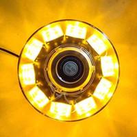 Strobe Light LED 10 LED di allarme di emergenza sul tetto Beacon Flash 30W ambra gialla 12V