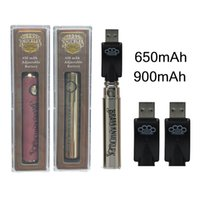 Brass Knuckles Vape 650mAh 900mAh regolabile Tensione preriscaldamento Pen BK 510 Batterie VV Discussione con la carica per la cartuccia olio USB