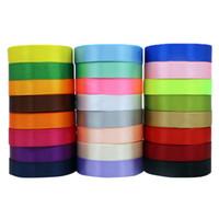 Couleur cadeau wrap arc corde 2 cm de largeur 22 m ruban arc corde d'emballage de boîte de cadeau de mariage de ruban long ruban de couleur
