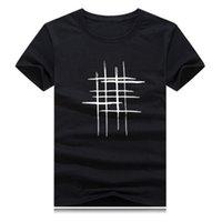 Hombres de diseno de camisetas de algodón ropa de verano desgaste de la calle simple transpirable Hombres Moda Casual Slim Fit Camiseta de la camiseta Homewear más el tamaño 5XL
