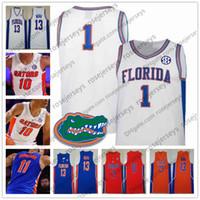 2019 NCAA Florida Gators # 1 Tre Mann 11 Keyontae Johnson 23 escocés Lewis 50 Haslem 25 Parsons Udonis Chandler Hombres Jóvenes de New Vintage