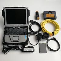 Per BMW A2 + B + C Strumento di programmazione diagnostico automatico ICOM A2 con CF19 Toughbook Laptop e 720 GB SSD V06.2021 SOFT-Ware