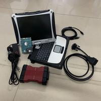 F-ord 용 VCM2 진단 도구 IDS V101 obd2 도구 vcm 2, 사용 된 노트북 CF-19에서 320GB HDD 포함