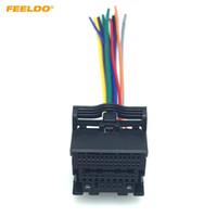 FEELDO Adaptateur de câblage audio stéréo pour voiture pour Chevrolet Cruze Malibu Aveo ISO Câble d'installation CD / DVD # 6077